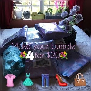 Bundle from items that say 3/20$ and add one more